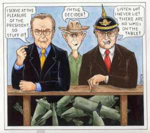 Rumsfeld, Bush Cheney