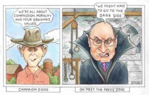Bush Vampire Cheney